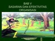 BAB V.efektifitas org