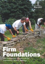 Firm Foundations - Community Development Alliance Scotland