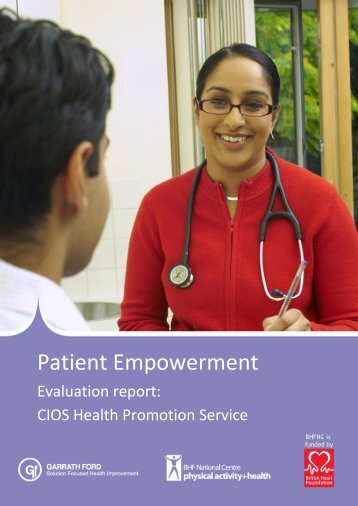 to download the full evaluation report. - BHF National Centre ...