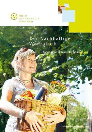 """""""Nachhaltiger Einkauf"""" pdf-Datei - ART"""