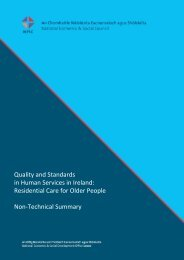 Residential Care for Older People Non-Technical Summary