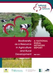 Biodiversity as a Resource in Agriculture and ... - Rural Network NI