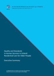 Quality and Standards in Human Services in Ireland: Residential ...