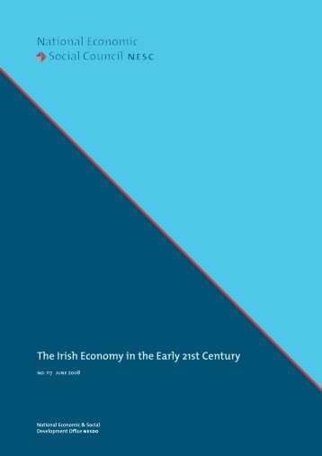 The Irish Economy in the Early 21st Century - the NESC Website