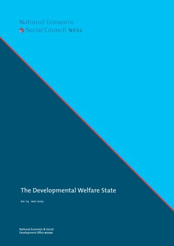 NESC - The Developmental Welfare State - Office for Social Inclusion