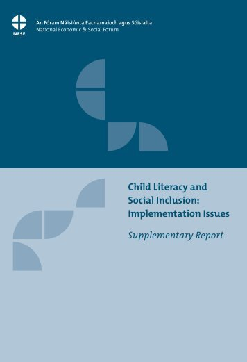 Child Literacy and Social Inclusion: Implementation Issues