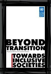 Regional Human Development Report - UNDP in Tajikistan