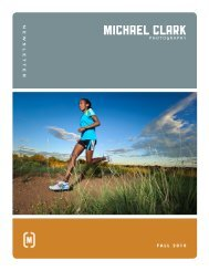 Michael Clark Photography Fall 2010 Newsletter