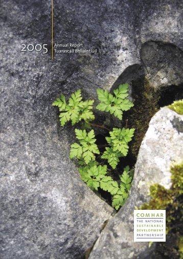 Comhar annual report 2005 (PDF version) - the NESC Website