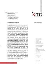 PRESSEMITTEILUNG Kasseler Musiktage 2013 31. Oktober – 17 ...