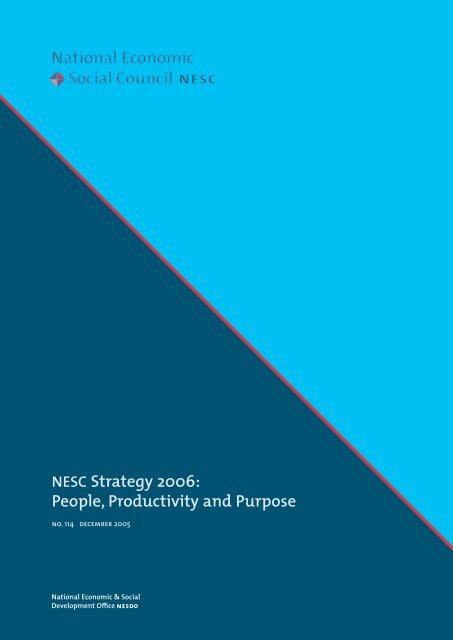 People, Productivity and Purpose - the NESC Website