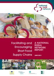Case Study on Short Food Supply Chains - National Rural Network