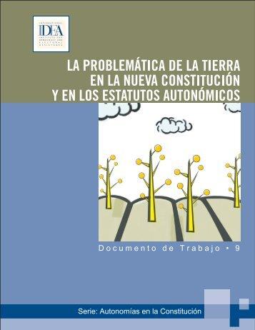 La problemática de la tierra en la nueva ... - ConstitutionNet