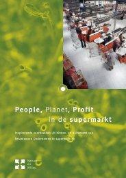 People Planet Profit in de supermarkt - Smakelijk Duurzaam