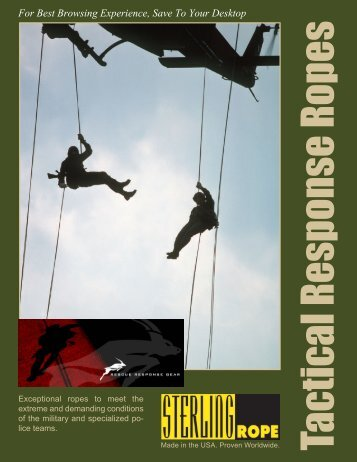 Rope Series - Rescue Response Gear