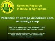 Potential of Galegaorientalis Lam. as energy crop