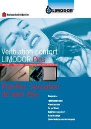 Ventilation confort LIMODOR-Plus Planifier, sensation ... - Trivent AG