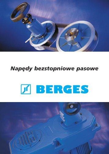 Koła pasowe firmy BERGES GmbH (plik w formacie pdf) - MS Spinex