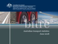 PDF: 1115 KB - Bureau of Infrastructure, Transport and Regional ...