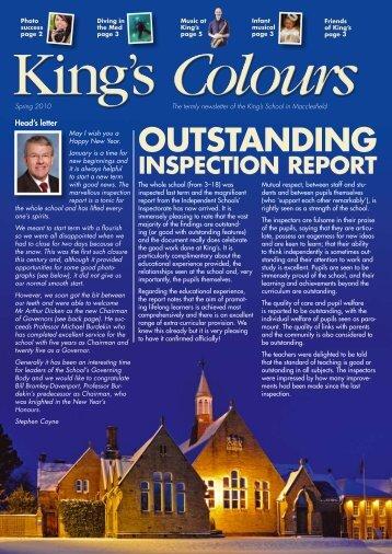 OUTSTANDING - The King's School in Macclesfield
