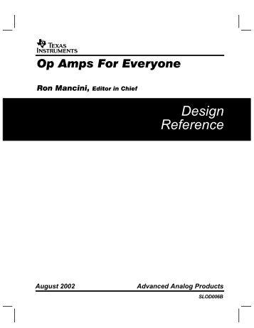 Op Amp Applications Handbook Walt Jung Editor border=