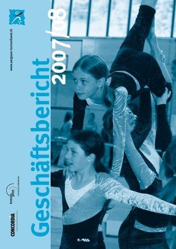 Geschäftsbericht - Aargauer Turnverband