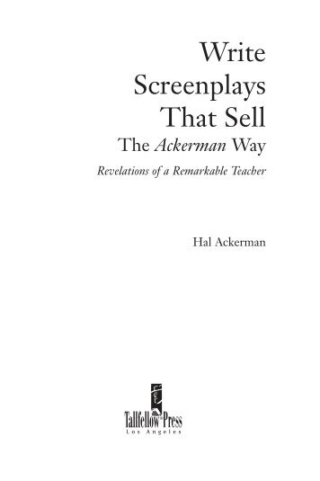 writing screenplays that sell pdf download Download the writing screenplays that sell right here so, what else you will go with take the inspiration right pdf file : writing screenplays that sell page : 1.