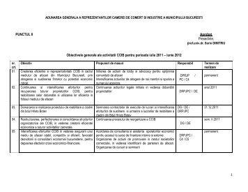iunie 2012 - Camera de Comert si Industrie a Municipiului Bucuresti