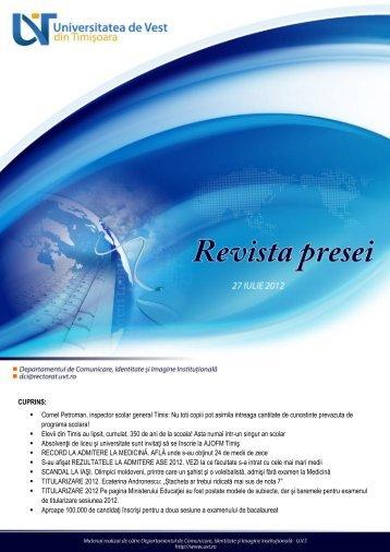 17. REVISTA PRESEI 27-iul-2012 - dci.uvt.ro