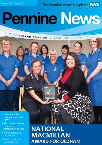 May 2012 - Pennine Acute Hospitals NHS Trust