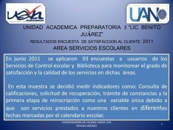 Junio 2011 - sistema administrativo de calidad