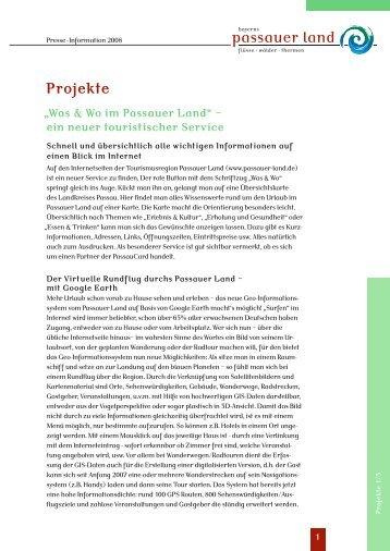 Projekte - Passauer Land