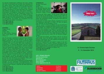 Cinema Italia 2010 - Filmhaus