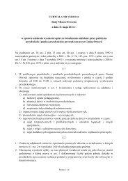 UCHWAŁA NR VIII/81/11 Rady Miasta Otwocka z dnia 31 maja 2011 ...