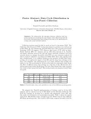 Duty-Cycle Distribution in Low-Power Collection - SUPSI