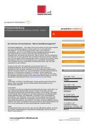 Ein Interview mit zwei Experten - mib Management Institut Bochum ...
