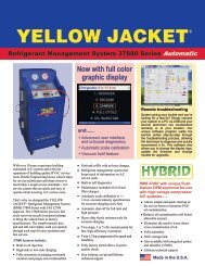 YELLOW JACKET Refrigerant Management System 37880 ... - aesco
