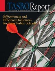 TASBO Report - Texas Association of School Business Officials