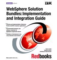 WebSphere Solution Bundles: Implementation and ... - IBM Redbooks