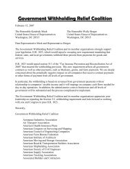 February 15, 2007 – Letter to Reps. Meek and Herger in support of ...