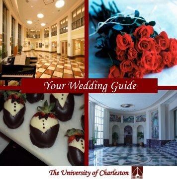 Catering Wedding Guide - University of Charleston