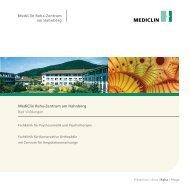 MediClin Reha-Zentrum am Hahnberg Bad Wildungen
