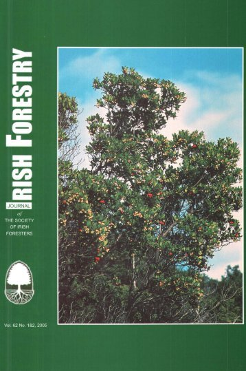 Download Full PDF - 45.29 MB - The Society of Irish Foresters