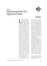 Hemorragia de vías digestivas altas - Acta Médica Colombiana