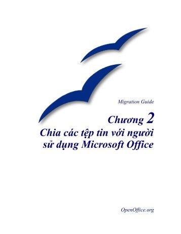 Sharing tệp với Microsoft Office