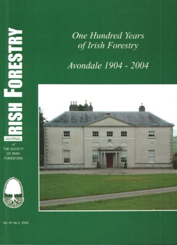 Download Full PDF - 53.89 MB - The Society of Irish Foresters