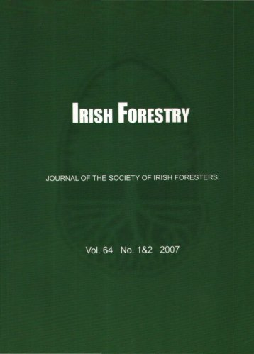 Download Full PDF - 5.04 MB - The Society of Irish Foresters