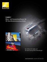 Camio7 Mess- und Auswertesoftware für 3D ... - Optoteam.at