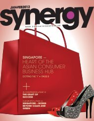 heart of the asian consumer business hub - Contact Singapore