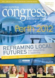 reframing loCal futures - Local Government Managers Australia